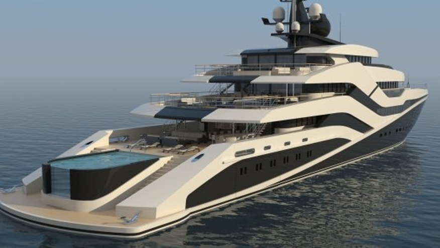 The 23 foot superyacht is named after the party island Ibiza.