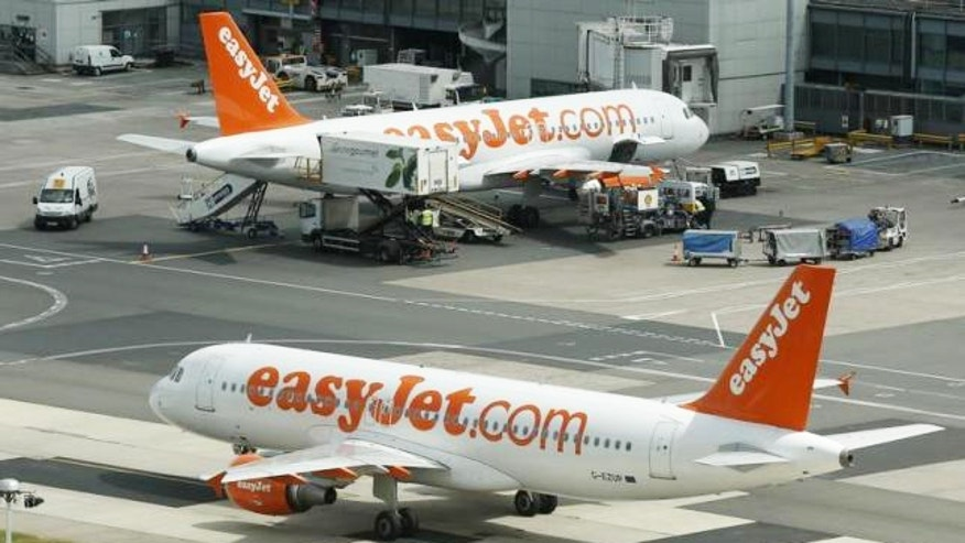 Easy Jet is a popular low-cost British carrier.