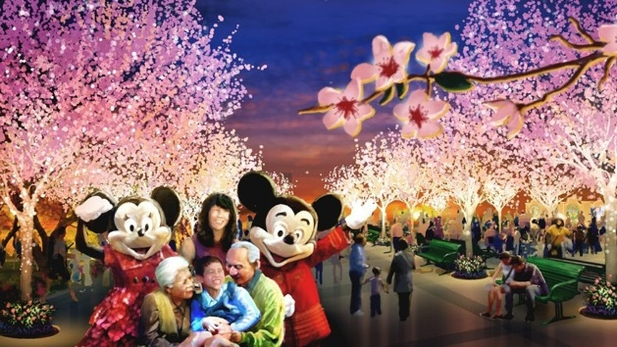 Disneyland Shanghai Six Flags Dubai And More Theme Park