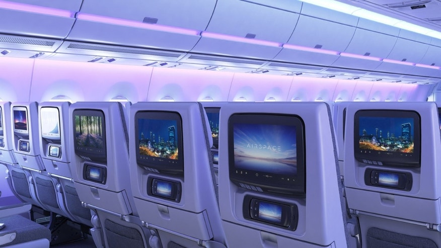 Airbus' Airpspace was designed with a premium passenger experience in mind