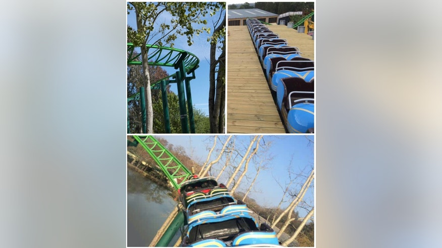 """The Big One is being touted as the """"biggest, highest and fastest"""" roller coaster in North Devon-- but you can't make a peep while riding it."""