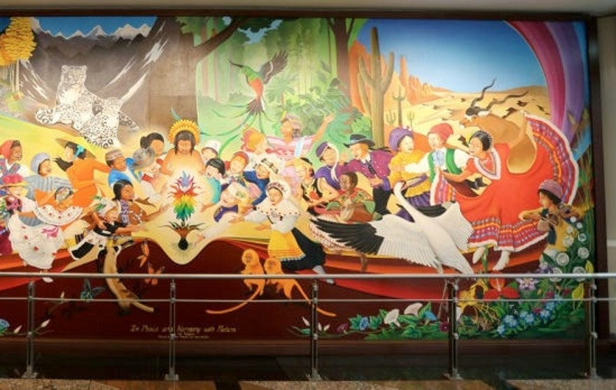 The airport which launched a thousand conspiracy theories for Denver mural conspiracy