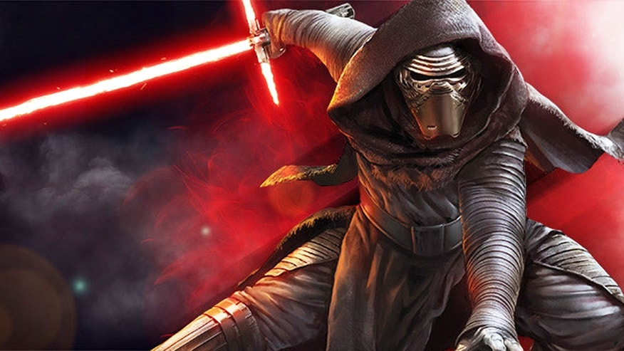 Is Kylo Ren scarier on stage?