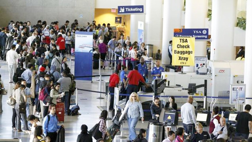 American Airlines has blamed long TSA lines for customers' missed flights.