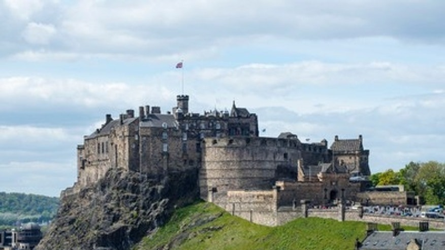 Look familiar? This castle in Edinburgh may have inspired Hogwarts.