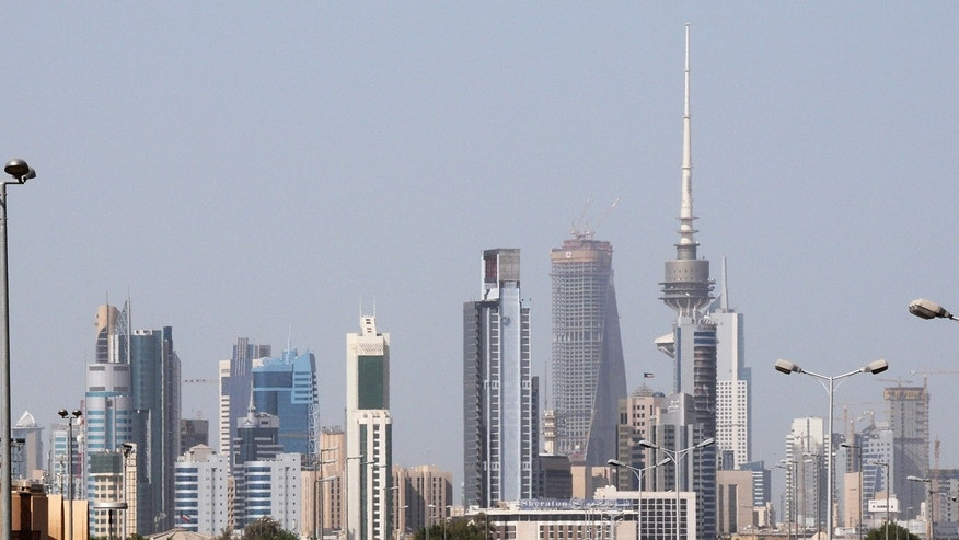 The Kuwait City skyline, 2009.