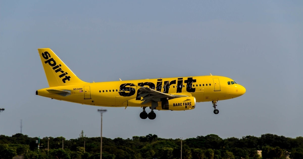 Spirit Airlines is offering a discount of 85% on select tickets on Wednesday using the promo code 85PCT. It applies only to flights between May 9 and June 13 or September 5 and October