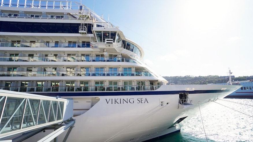 All aboard Viking Cruises' newest ocean vessel.