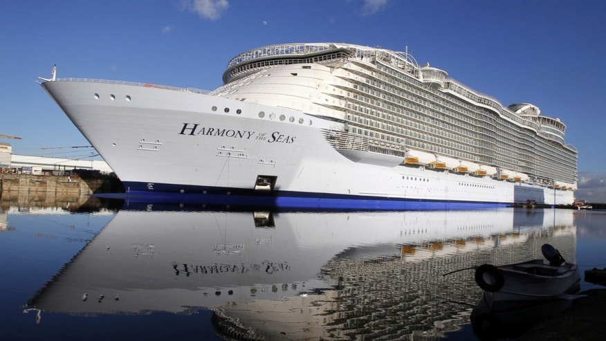World S Largest Cruise Ship Sets Sail In France Fox News