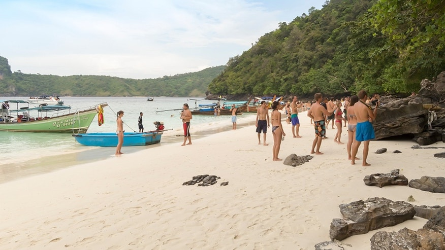 Thai authorities are closing a popular island destination due to the influx of tourists and the trash they leave behind.