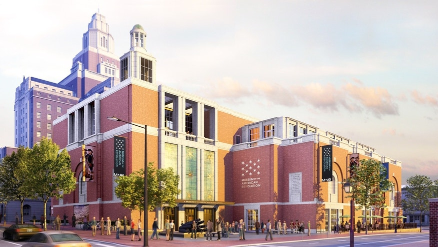 A rendering of the Philadelphia's new museum.
