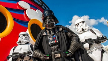 Returning in early 2017, Disney Cruise Line guests can explore a galaxy far, far away during Star Wars Day at Sea, a day-long celebration of intergalactic proportions with iconic characters and out-of-this-world entertainment. New in 2017, the Disney Fantasy special sailings expand to both eastern and western Caribbean itineraries with a total of 15 cruises. (Matt Stroshane, Photographer)