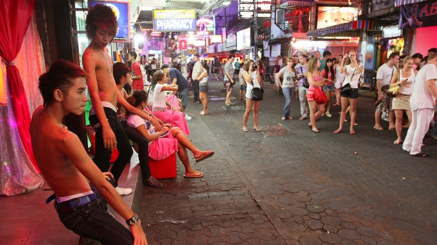 Officials are cracking down on Thailand's notorious sex tourism industry.