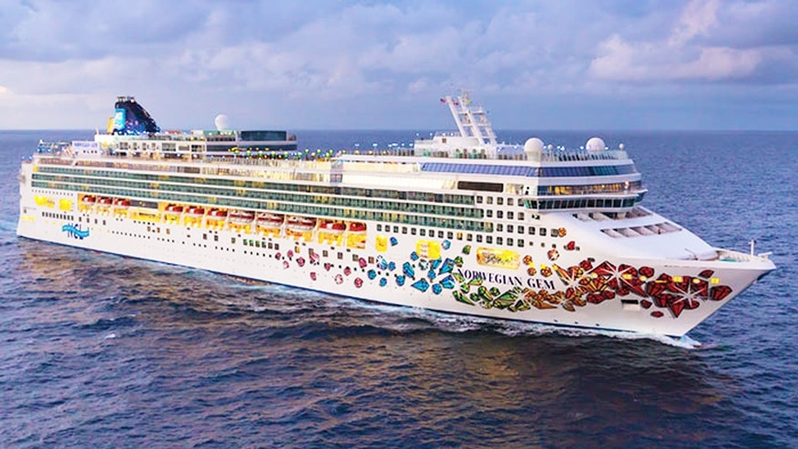 Two passengers aboard the Norwegian Gem suffered a medical emergency Sunday morning.