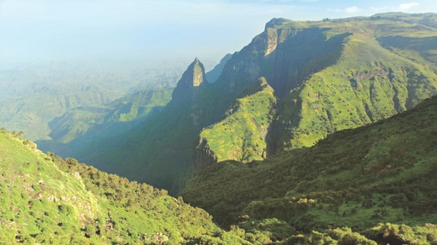 ANGTPB Simien Mountains National Park, Ethiopian Highlands, Ethiopia. Image shot 2005. Exact date unknown.