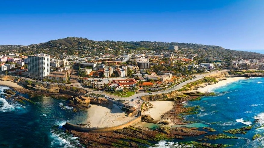 Enjoy sweeping views of San Diego's picturesque La Jolla.