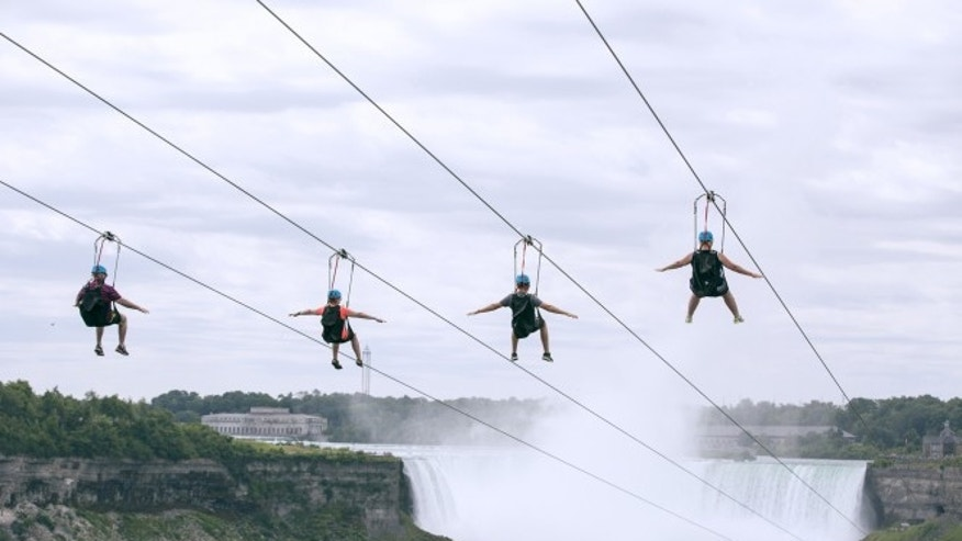 Now you can zip and zoom with the best of them over Niagara Falls.