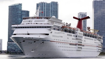 The Carnival cruise ship Ecstasy leaves the port in Miami, Florida, September 18, 2015. The United States on Friday issued regulations easing restrictions on American companies seeking to do business in Cuba and opening up travel in the latest action to weaken the U.S. trade embargo amid warming relations with the Communist country.  REUTERS/Joe Skipper (Newscom TagID: rtrlseven320874.jpg) [Photo via Newscom]