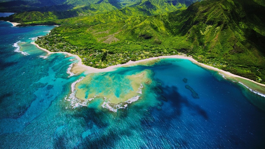 The Kauai, Hawaii location where Jurassic Park took place