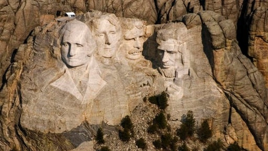 The Mount Rushmore National Memorial in the Black Hills near Keystone, S.D. In October 2016, the memorial that draws about 3 million visitors a year will mark 75 years.