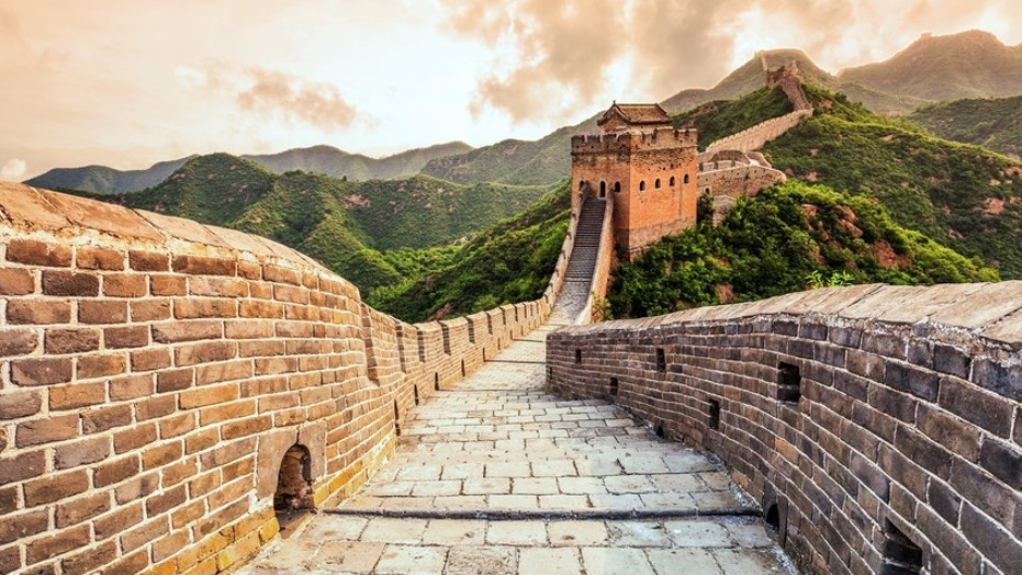 The Great Wall of China tops the list