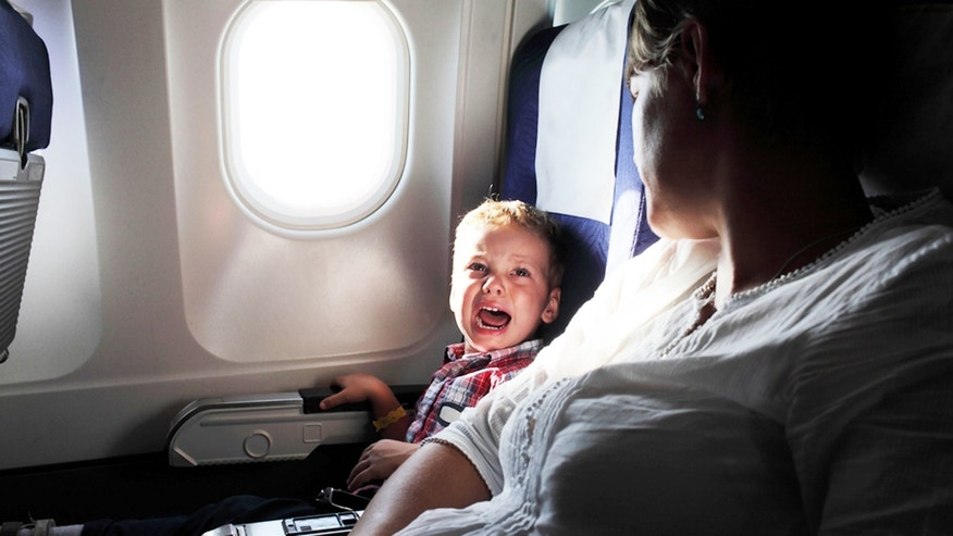 Do adults deserve some peace and quiet away from kids in the sky?