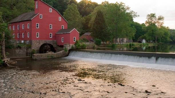 """""""This is the historic Clinton, New Jersey mill. It is well known around central Jersey for it's history and classic look."""""""