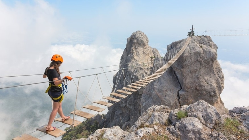 Don't look down! These are the scariest bridges in the world.