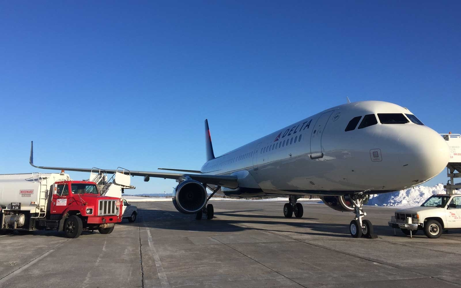 Delta Air Lines debuts first Airbus A321 made entirely in the US