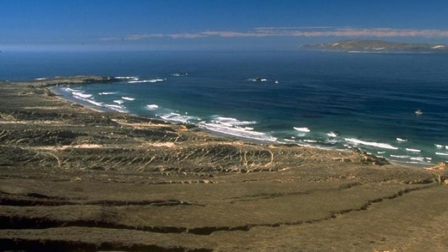 Sandy Point is located on the far west end of Santa Rosa Island near Santa Barbara, Calif.