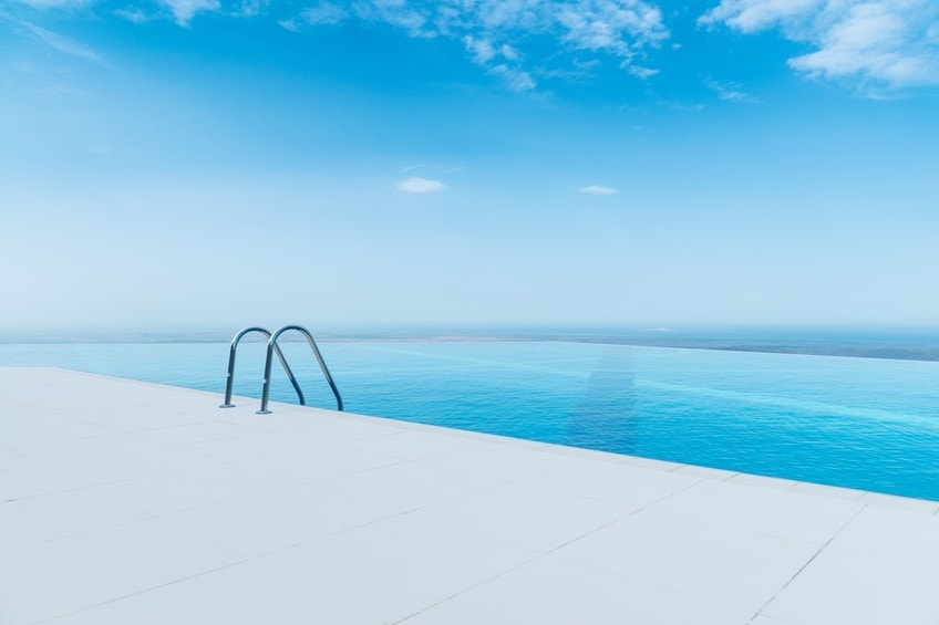 The most incredible infinity pools in the world