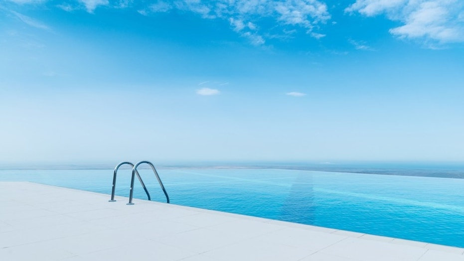 It's not an optical illusion; these are the best infinity pools in the world.