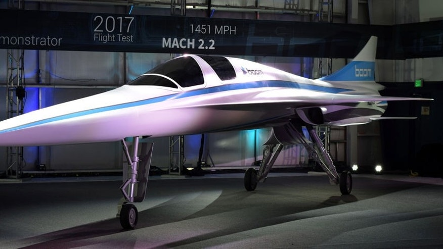 "Boom Technology says its XB-1, nicknamed the ""Baby Boom"" will be the world's fastest civil aircraft."