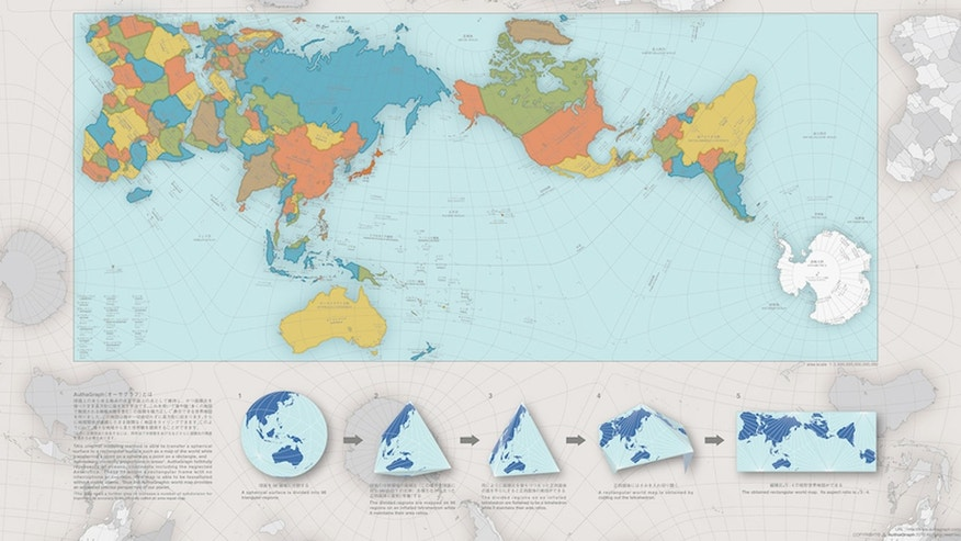 This new map shows the world as it really is.