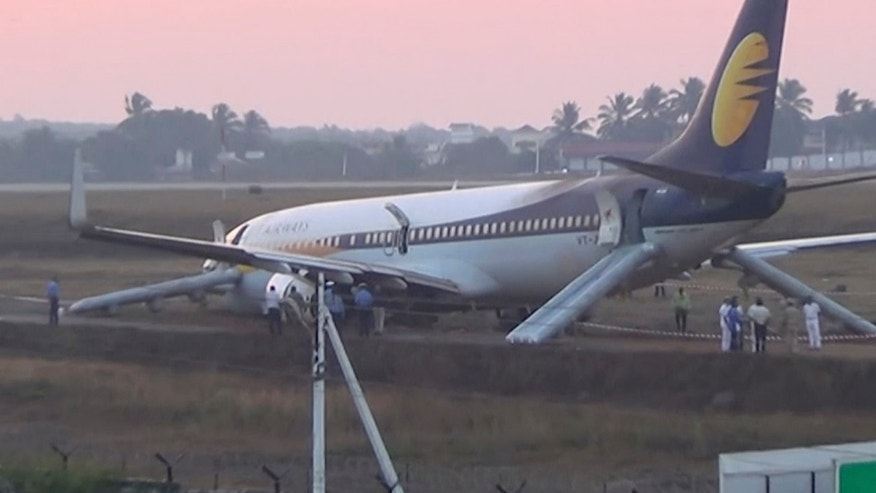 Injuries as Indian Jetliner Veers off Runway Before Takeoff