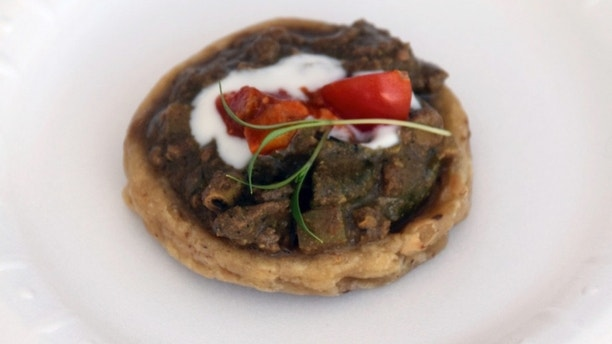 sope of curried chicken livers