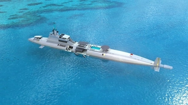 submersible yacht