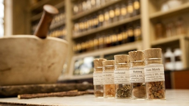 Courtesy of Stabler-Leadbeater Apothecary Museum