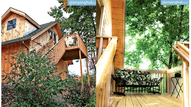 Pine River Nature Center Treehouse
