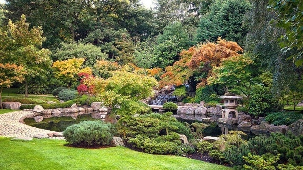 Kyoto Garden in Holland Park, London, UK