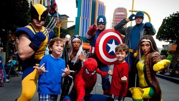 At Marvel Super Hero Island – located at Universal's Islands of Adventure, guests are forever caught in an epic battle between Marvel super heroes and super villains.