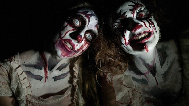 """ScareHouse, located in Pittsburgh, PA, is an elaborate haunted house attraction inside a nearly 100-year-old historic and haunted building. ScareHouse offers 3 differently themed haunts for just one price this Halloween season: The Summoning, Creepo's Christmas in 3-D, and Pittsburgh Zombies: Black Out.  Limited tickets available for """"The Basement"""" – an intense, immersive, and interactive experience underneath ScareHouse. No one under 18 will be admitted due to subject matter.  Tickets and more information about Pittsburgh's Ultimate Haunted House is available at www.scarehouse.com"""