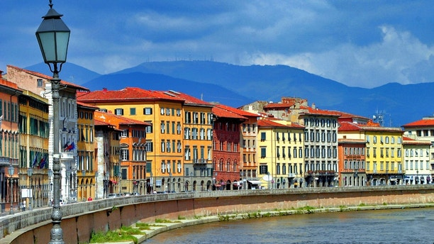 View of Florence and the Arno River