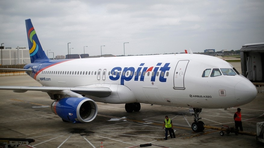 Spirit Airlines Plane Reuters Crop Top