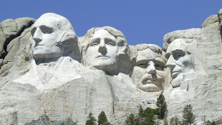 Mount Rushmore Outside NPS