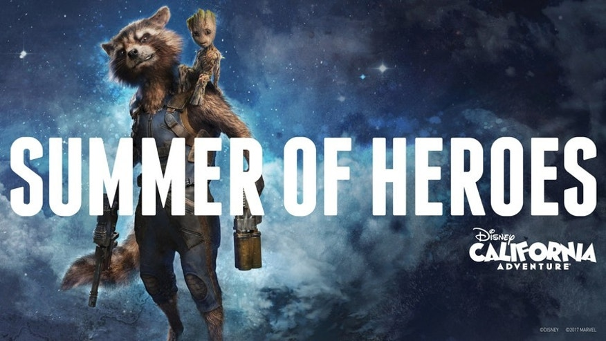 summer of heroes disney