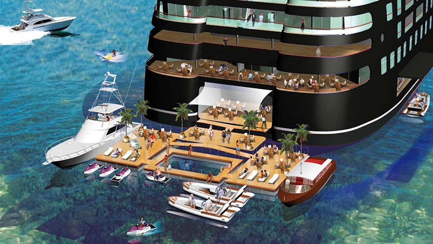 This Is What It S Like To Cruise On The World S Largest Superyacht Fox News