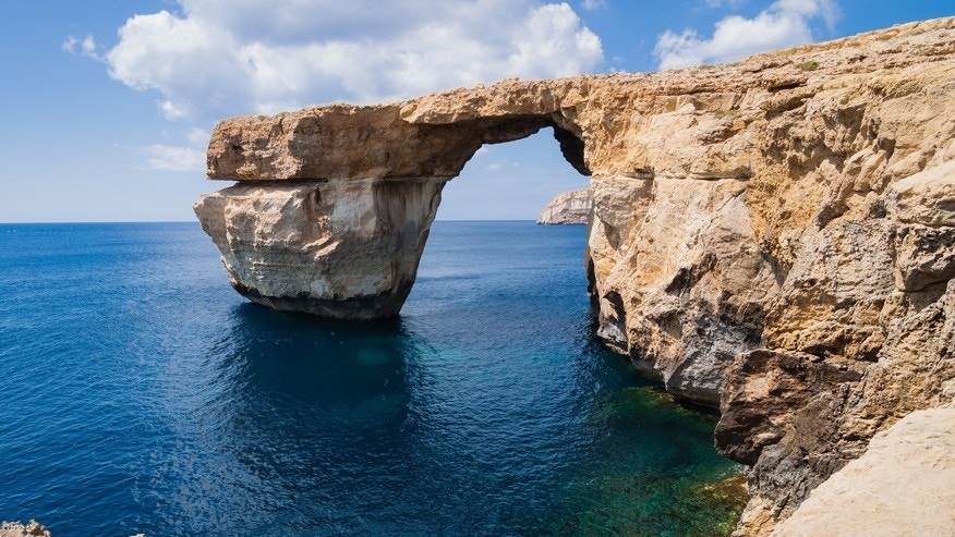 Prior to Wednesday morning, the Azure Window stood on the west coast of Malta's Gozo Island.