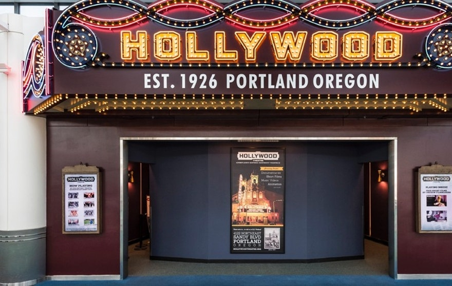 Elegant Expand / Contract. Hollywood Theater PDX