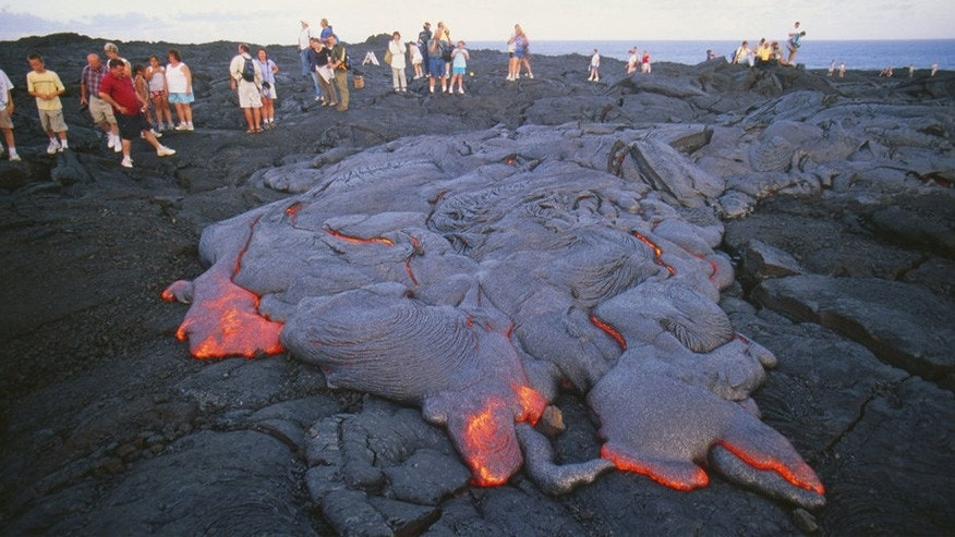 lava hawaii peter french